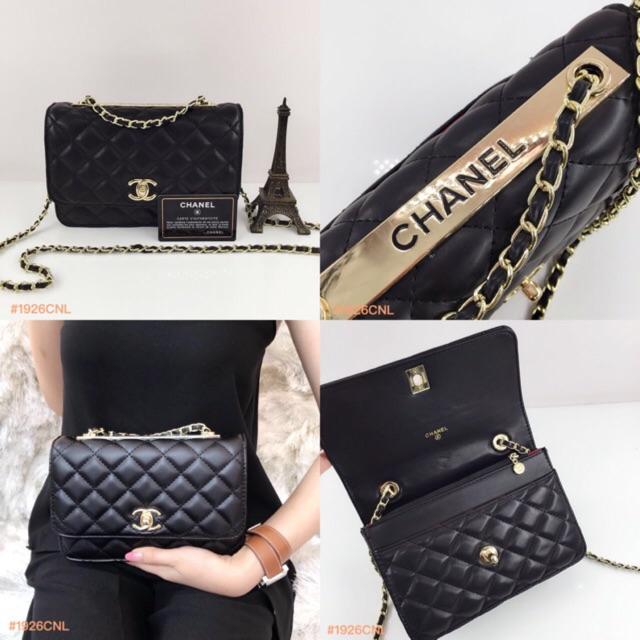 3957104de492 READY !!! Chanel WOC Classic Semi Premium | Shopee Indonesia
