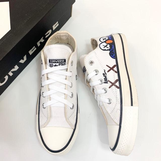 Sepatu Converse Classic X Kaws Pendek Made In Vietnam Shopee