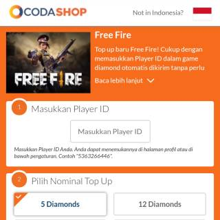 Garena FreeFire 140 Diamond