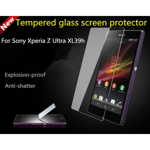 Tempered Glass Sony Xperia Z Ultra (Screen Protector Anti gores Kaca) | Shopee Indonesia