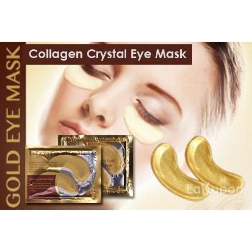 Masker Mata Emas Collagen Crystal Collagen Eye Mask