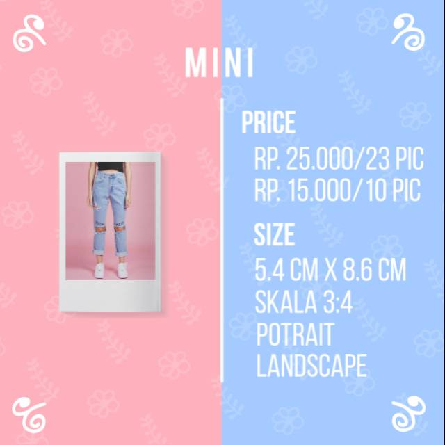 Cetak Ala Polaroid Instax Mini Film Cetak Foto Cetak Polaroid Print Ala Polaroid Print Foto Shopee Indonesia