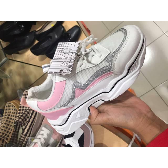 Sepatu Sneaker Sepatu Wanita St Moritz Fashion Wanita Shopee
