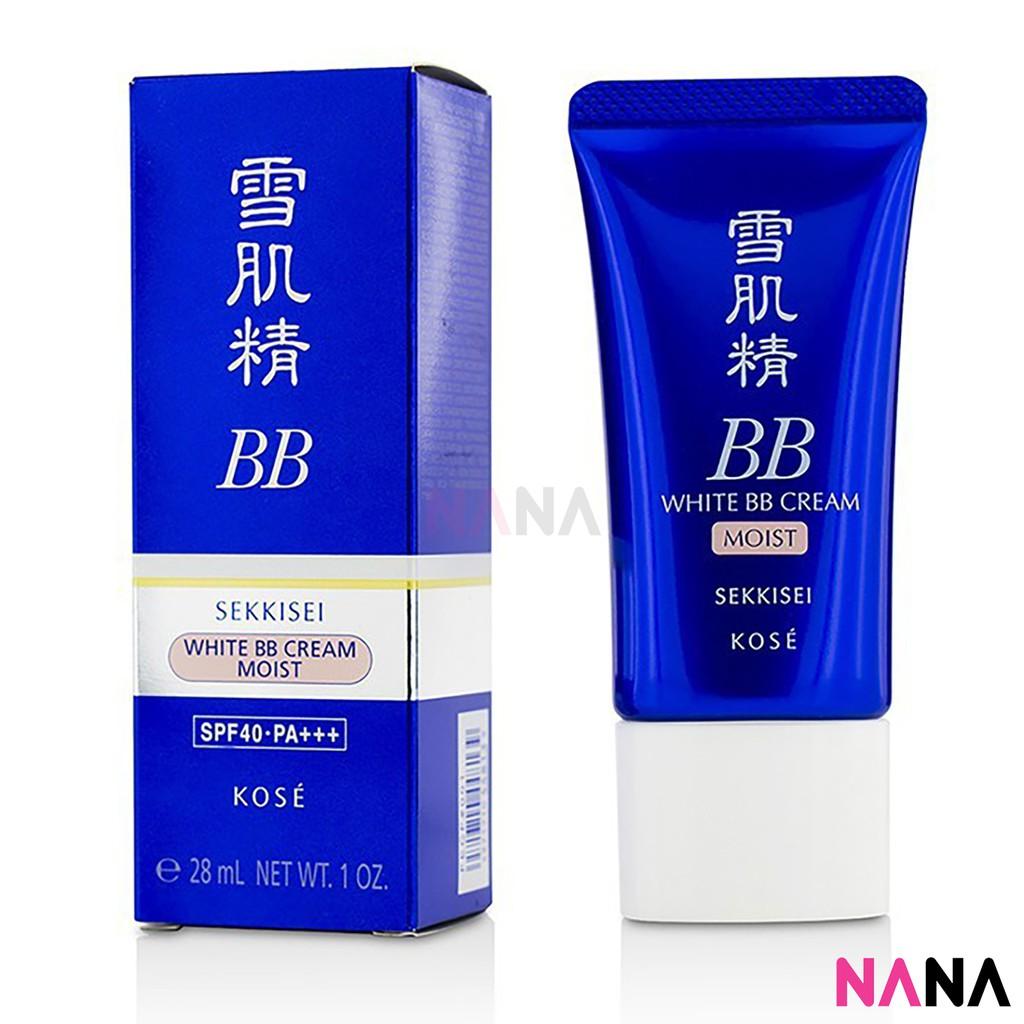 Kose Sekkisei White Bb Cream Spf 40 Shopee Indonesia Light Beige 03 Tanpa Refill Black Box Bioaqua Cushion