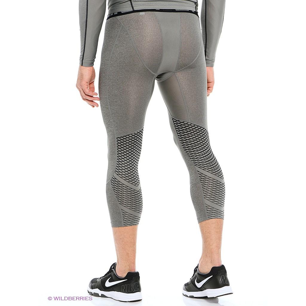 Celana Panjang Legging Wanita Desain Nike Pro Hypercool Warna Abu Abu Untuk Olahraga Shopee Indonesia