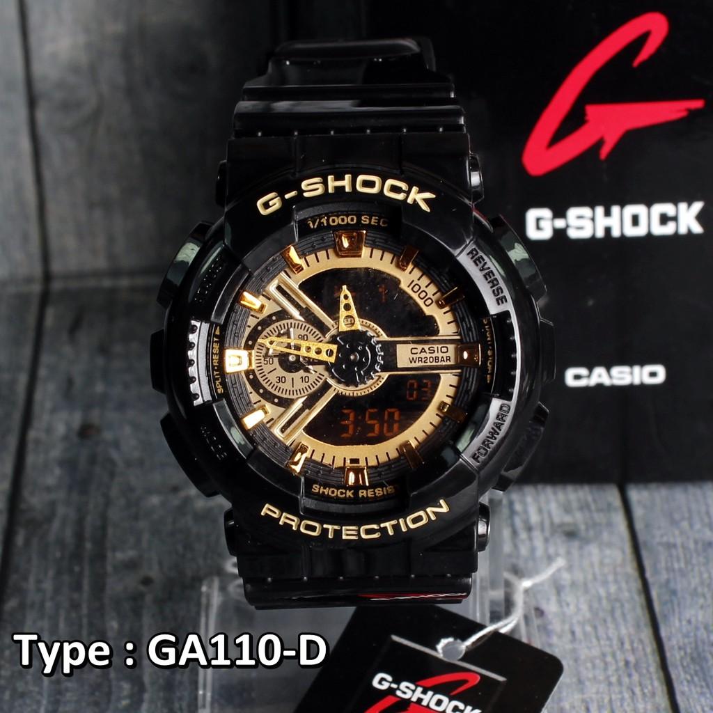JAM TANGAN PRIA G-SHOCK CASIO GA-110 PREMIUM COLOR GS  a53e9448bd
