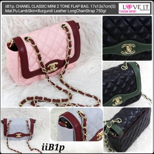 6c2aa9a64ada Channel Classic Mini Flap | Shopee Indonesia