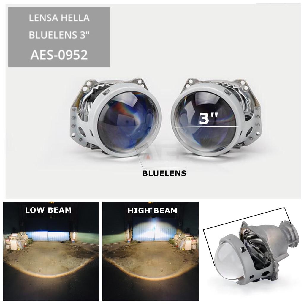 Lensa Projector Projie Projie AES ULTIMATE WST Original H1 Komplit Selenoid tanpa hid kit | Shopee Indonesia