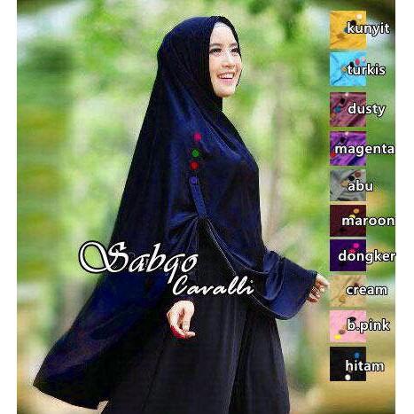 SP372494415 Hijab Jilbab Khimar Sabqo - Blanja.com