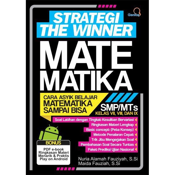 Buku Kumpulan Rumus Matematika Smp Mts Semua Kelas Vii Viii Ix Strategi The Winner Shopee Indonesia