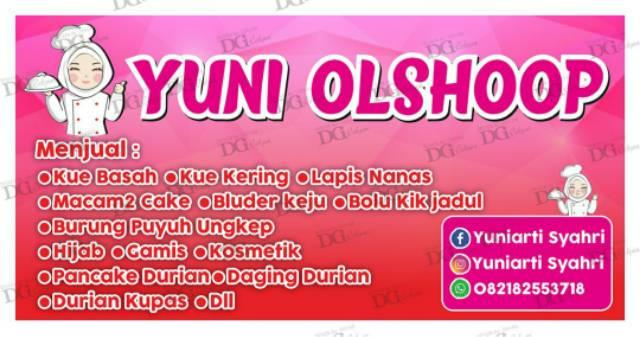 Contoh Spanduk Jualan Kue Basah - desain banner kekinian