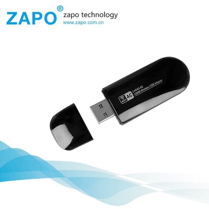 TERMURAH! ZAPO W50S Mini USB Wireless Adapter 802 11AC