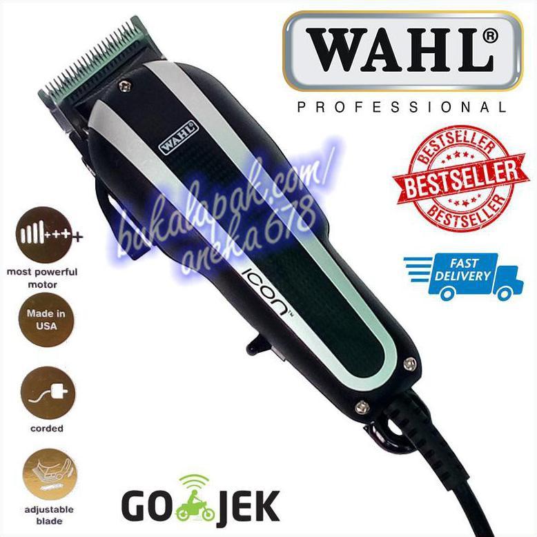 Jual WAHL ICON HITAM ALAT MESIN CUKUR RAMBUT CLASSIC SUPER TAPER BLACK USA  HAIR CLIPPER T  dcbbf83d39