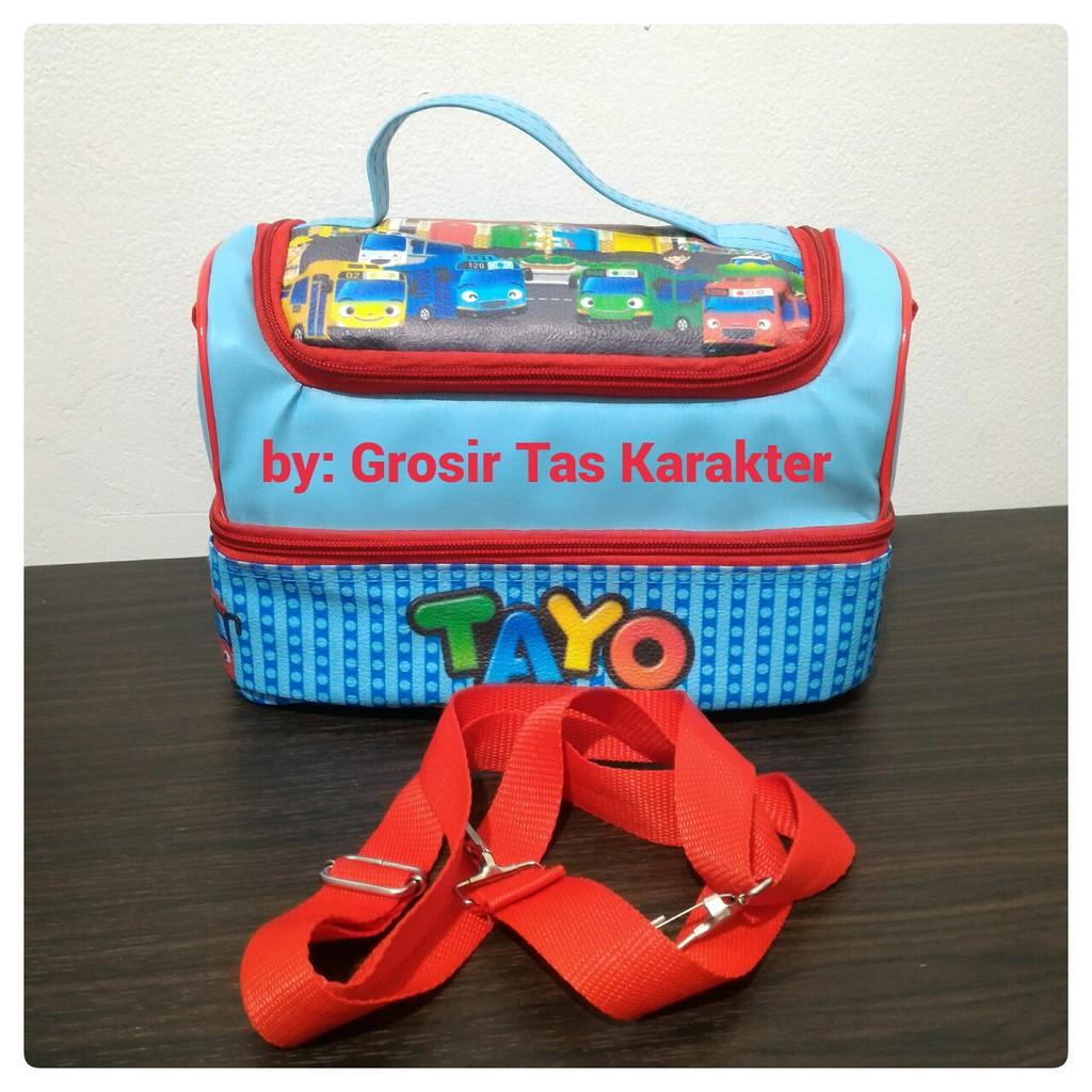 Tas Tempat Bekal Makan Anak Sekolah Lunch Bag Seri Ts 01 Merek Selempang Import Hana Ahphbu Dayony Untuk Laki Shopee Indonesia