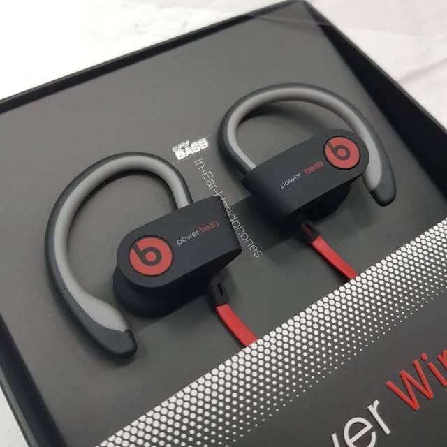5b1c17ae519 Earphone Beats Power 3 Wireless Sport Headset Bluetooth 5HR | Shopee  Indonesia