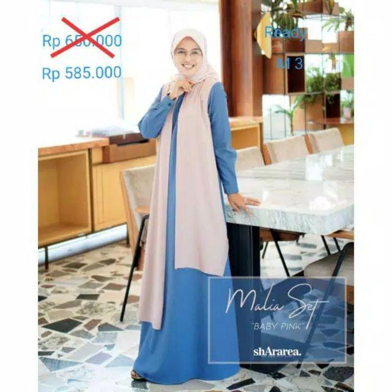 Shararea Malia Set By Shararea Shararea Set Shararea Ori Syari Set Branded Premium Elegant Shopee Indonesia