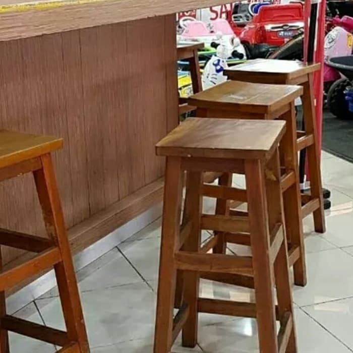 Kursi Bar Cafe Kursi Sederhana Shopee Indonesia