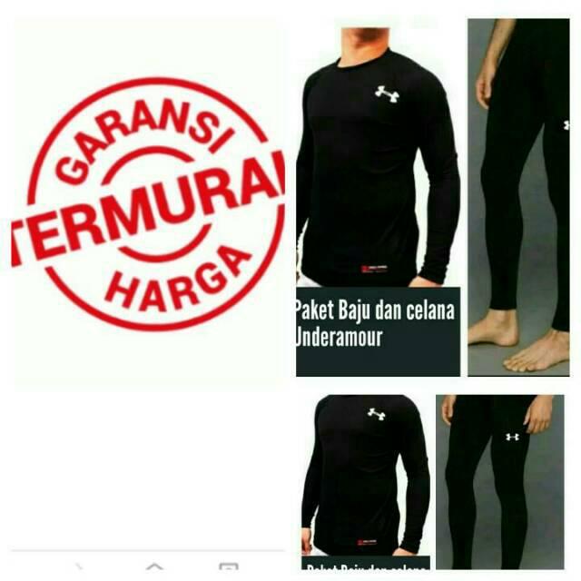 Paket baju dan kaos dan celana renang baselayer diving lari futsal gym fitnes semua olah raga nike | Shopee Indonesia