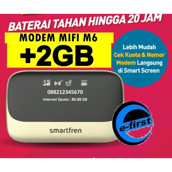 modem mifi andromax m6 kuota internet smartfren 2gb pnrus m3y m5 m3s