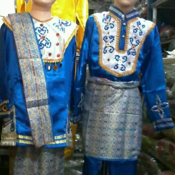 Pakaian Adat Bangka Belitung Xxi - Baju Adat Tradisional