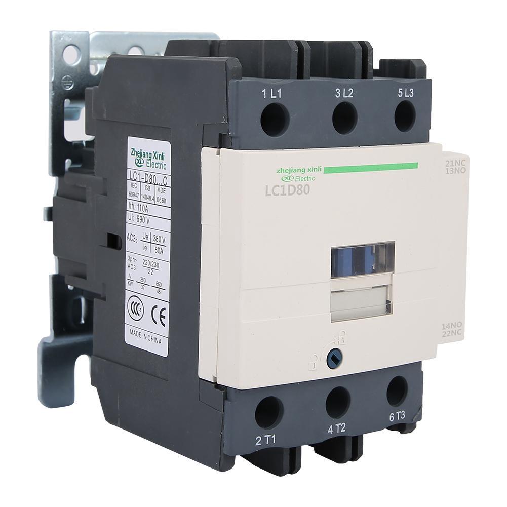 NEW FITS LC1-D1810 AC CONTACTOR 18A 120V AC 50//60HZ 3NO+NO