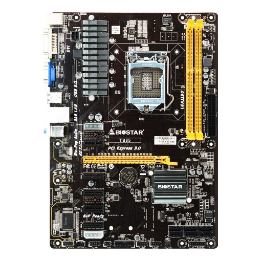 BIOSTAR TB85 Intel Socket 1150 Motherboard