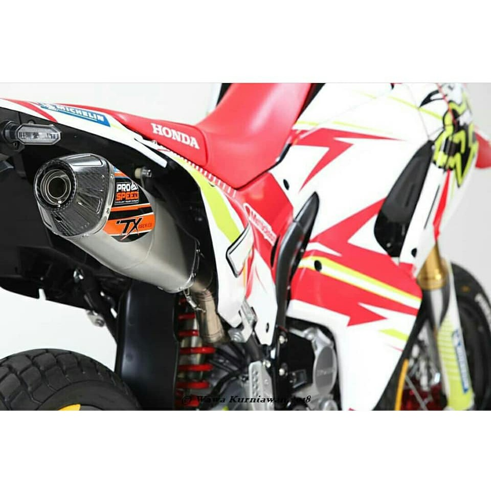 Prospeed Viper Series Honda Cbr250rr Full Shopee Indonesia Knalpot R25 Mt25 Mf Fullsystem Black Chome