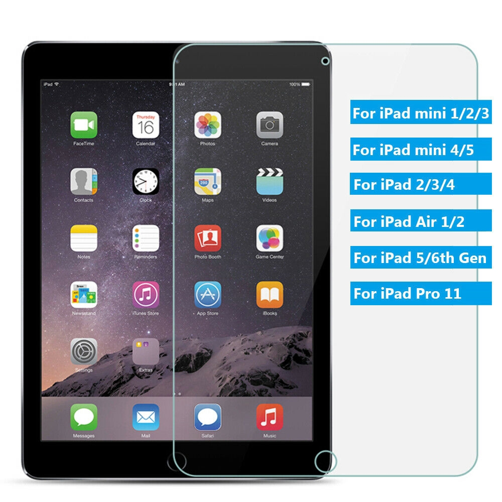 "Tempered Glass Screen Protector Cover For Apple ipad mini 1//2//3 7.9/"" Tablet"