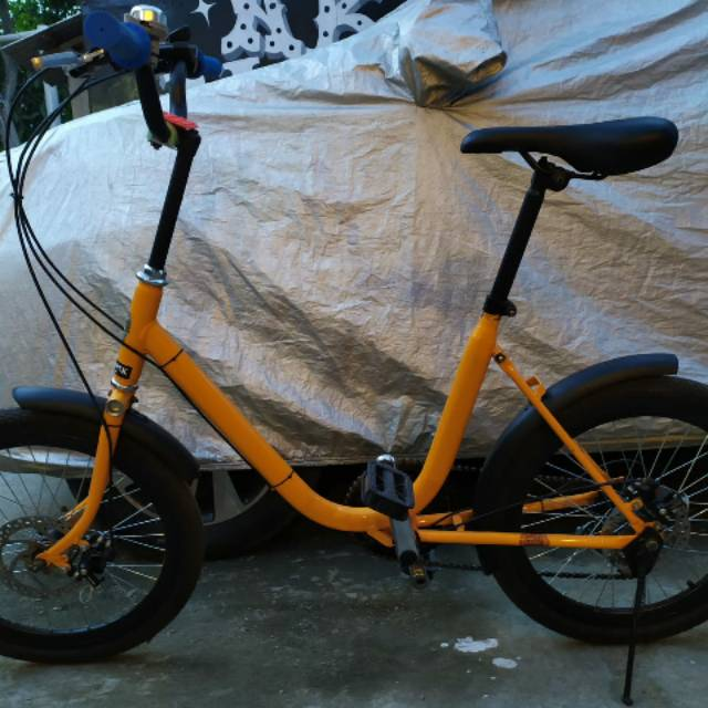 Sepeda Minion 20 Full Modif Shopee Indonesia