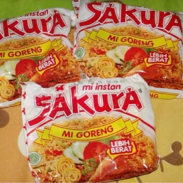 Mie Sakura Goreng Jajanan Jadoel Tahun 90an Shopee Indonesia