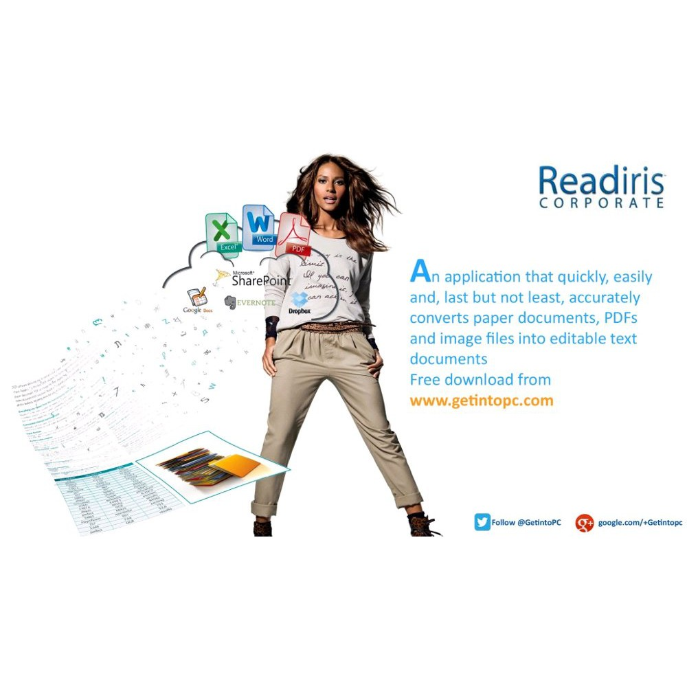 Readiris Coorporate 14 OCR Aplication Software