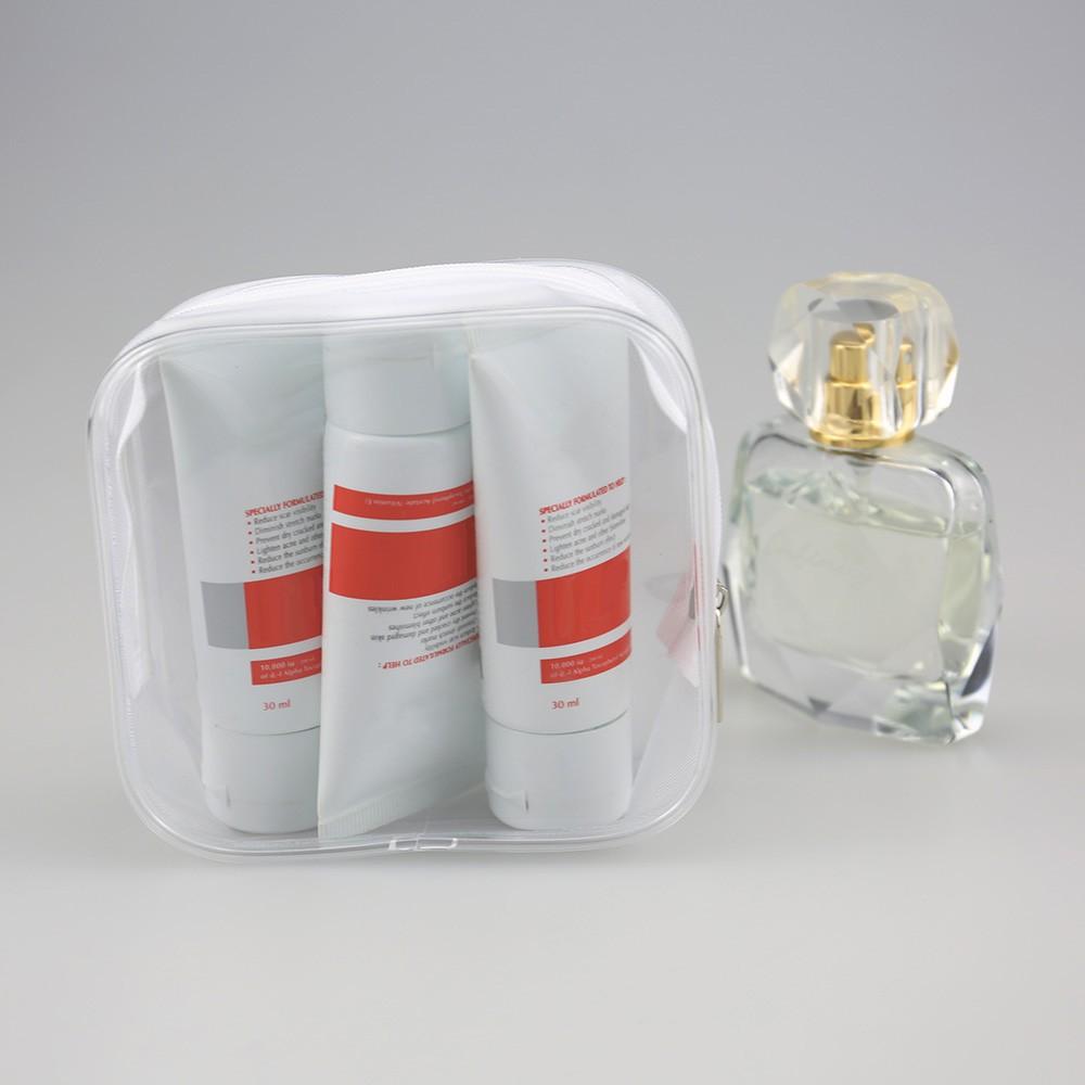 Tempat Penyimpanan Pouch Organizer Kosmetik Makeup Alat Mandi Bahan Tas Makup Beauty Case Box Make Up Banyak Warna Pvc Transparan Untuk Travel Shopee Indonesia