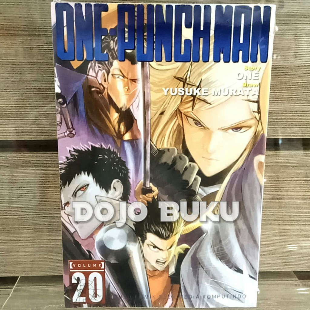 Komik Seri One Punch Man Edisi 2020 By One Yusuke Murata Shopee Indonesia