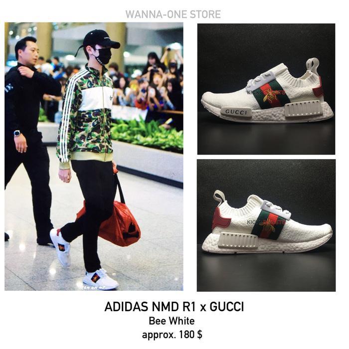 6c5da37d8 Sepatu Adidas Nmd R1 x Gucci White Premium Quality