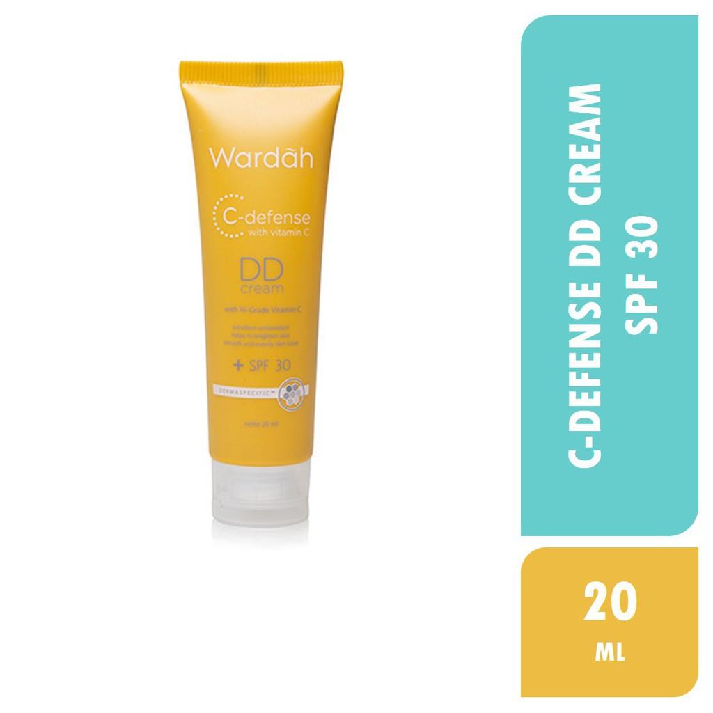 Wardah DD Cream SPF 30 C-Defense Vitamin C | Shopee Indonesia
