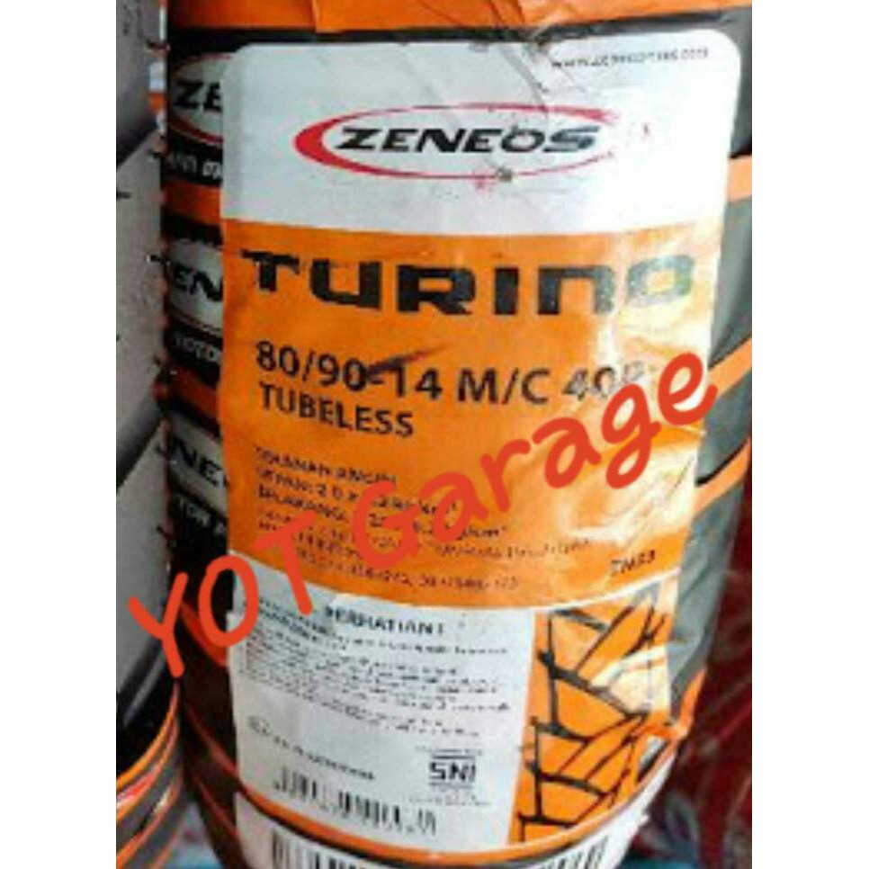 Zeneos Milano Zn 87 120 70 12 Tubeless Ban Vespa Scoopy 2017 Shopee Indonesia