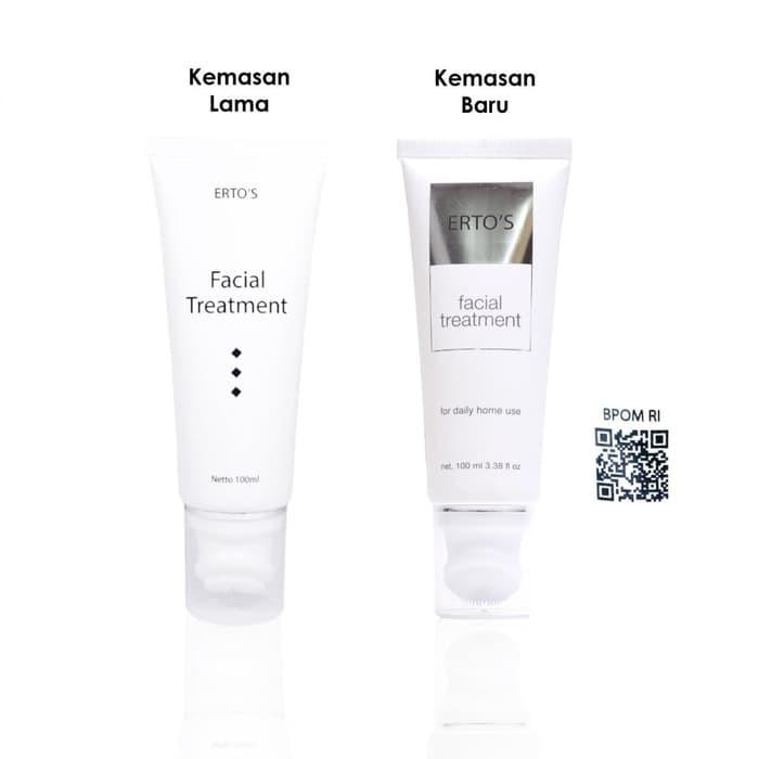 Ertos Erto S Facial Treatment 100ml Original Bpom 100 Kemasan