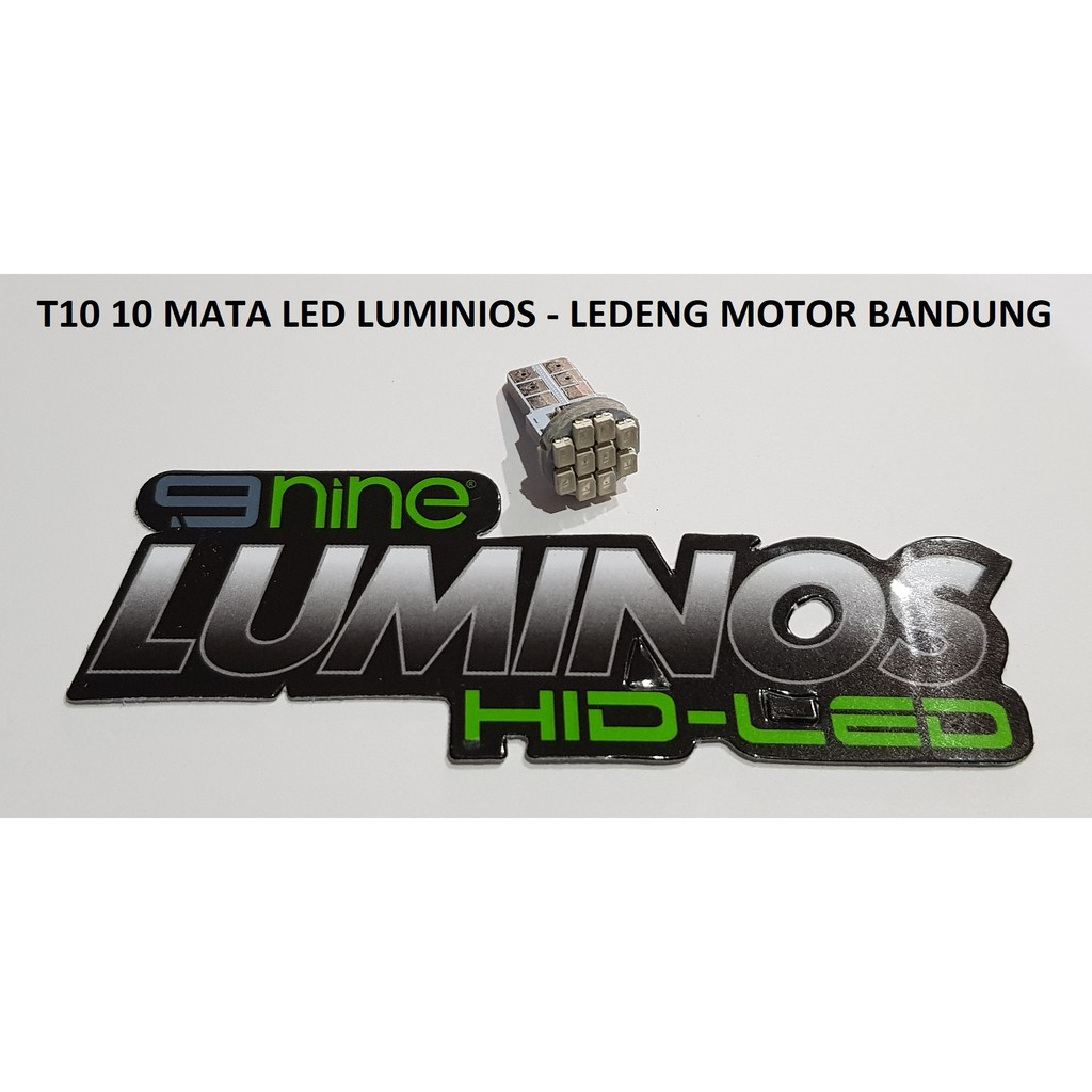 Lampu Led Senja Kota T10 Luminos Shopee Indonesia Sen Colok T 10 Biru Isi 2 Pcs