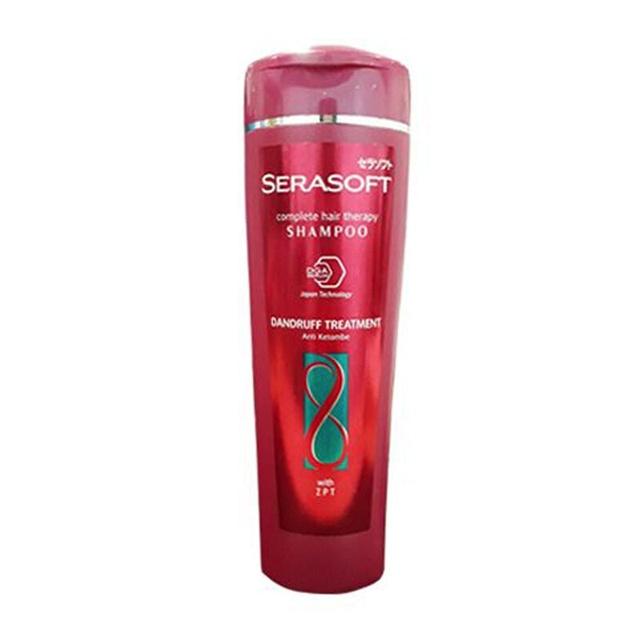 SERASOFT Shampoo Dandruff Treatment Botol 340ML-2