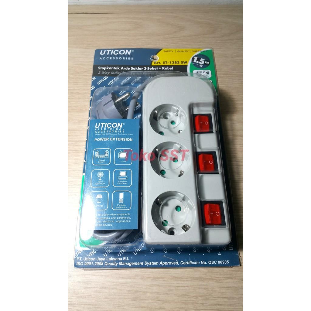 Colokan Stop Kontak Saklar 4 Lubang Kabel 3 Meter 3567a6 5 Panjang Merk Kyzuku Shopee Indonesia