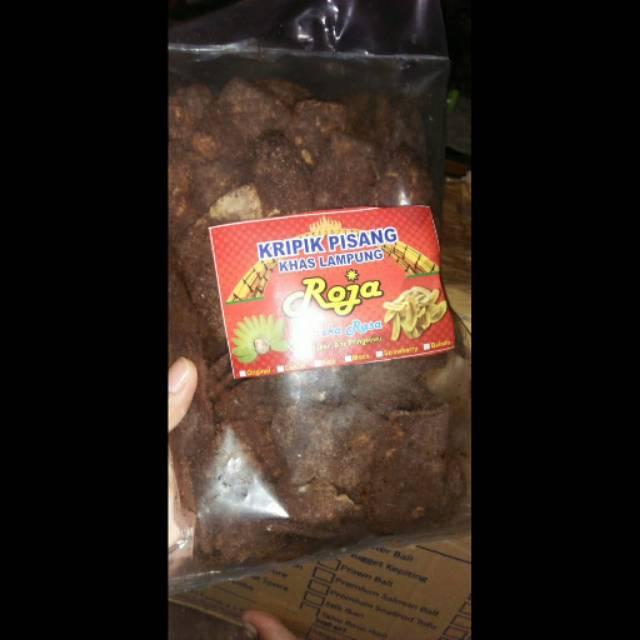 Gambar Keripik Pisang Coklat Khas Lampung Keripik Pisang Coklat Khas Lampung Oleh Oleh Lampung Pisang