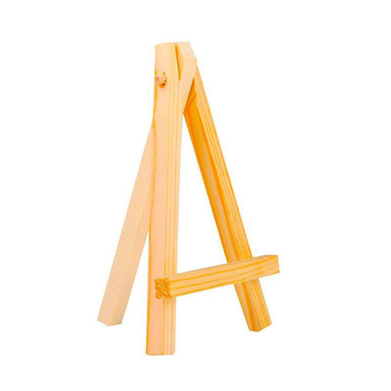 3 By 5 Inch Tiny Wood Easels Set For Paintings Craft Small Acrylics Oil Projects Pack Of 12 Shopee Indonesia