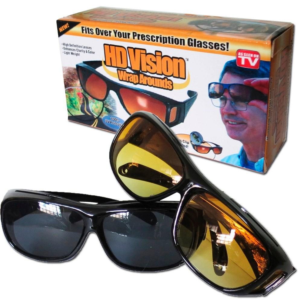 Kacamata Hd Vision Anti Silau 1 Box Isi 2 Siang Dan Malam Hitam Vison Kaca Mobil Kuning Shopee Indonesia