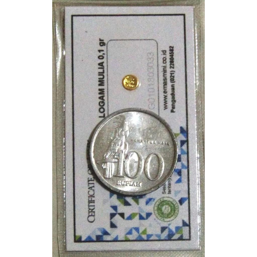 Emas Mini 1 Gram 24 Karat Investasi Shopee Indonesia Kalung Perak Motif Ukiran Naga 07373