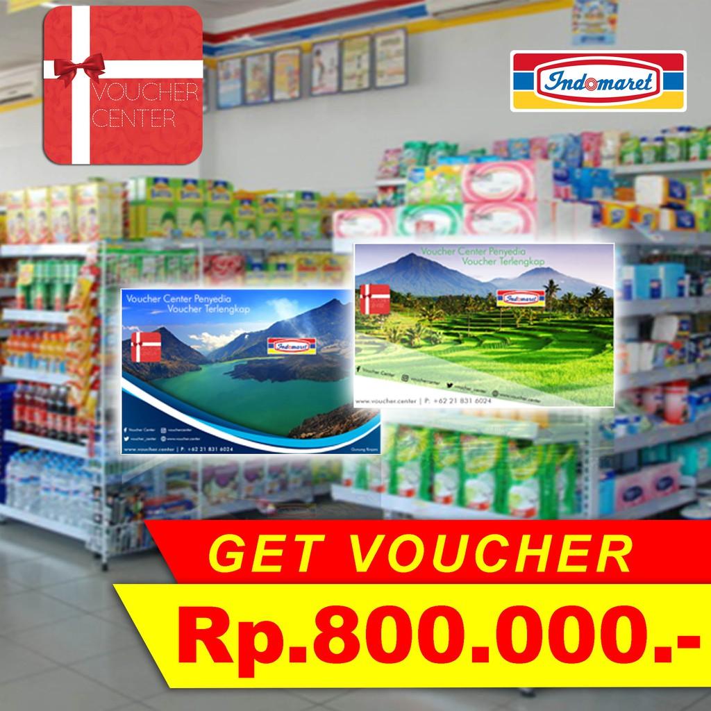 Voucher Indomaret Rp 800000 Shopee Indonesia Belanja 1500000