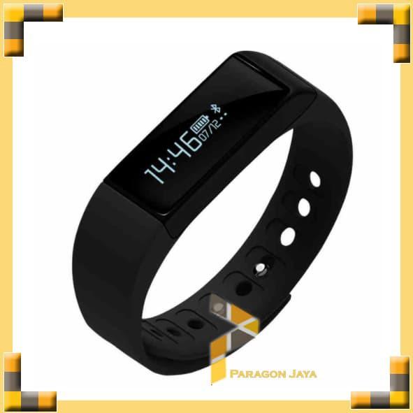 Jam Tangan Pintar Bracelet Gelang S3 - Smart Band Bkn Xiaomi / Mi Band - Black Gold Terbaru | Shopee Indonesia
