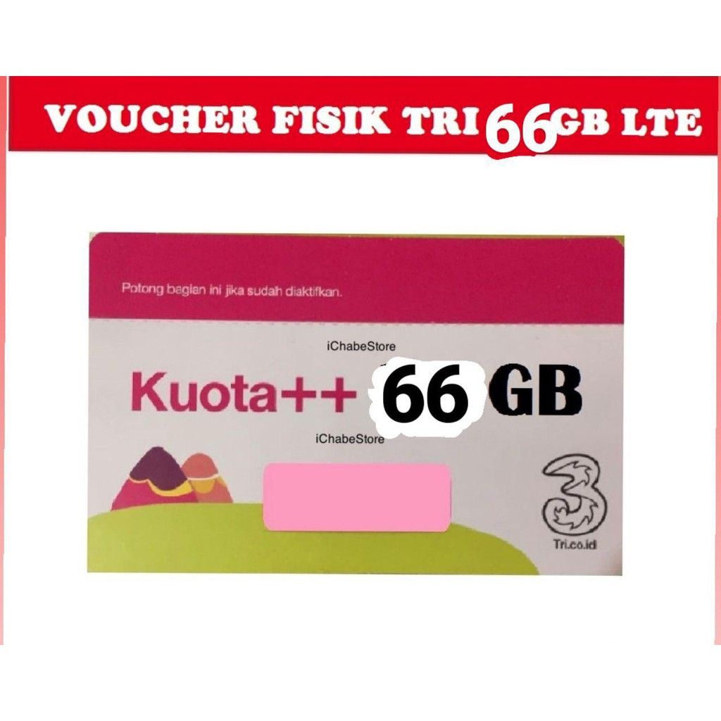 Tri Voucher Fisik Aon 10gb Total Kuota 50gb Shopee Indonesia Kartu Perdana Three 3 Internet Reguler