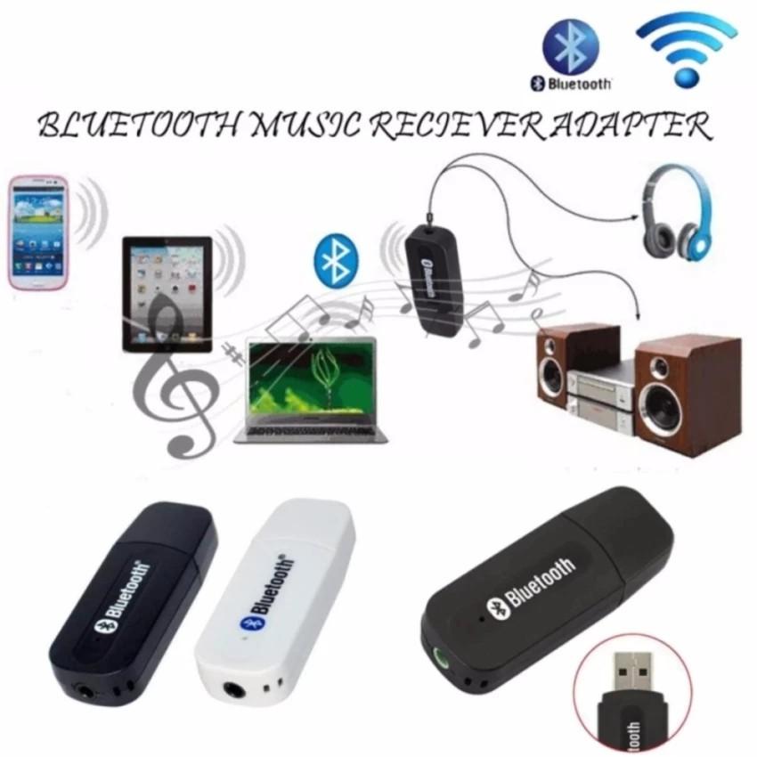 USB BLUETOOTH RECEIVER WIRELESS AUDIO ADAPTOR MOBIL DONGLE UNTUK SMARTPHONE PUTIH. Bluetooth Music 3.5mm Stereo Audio Music Receiver Adapter For Speaker ...
