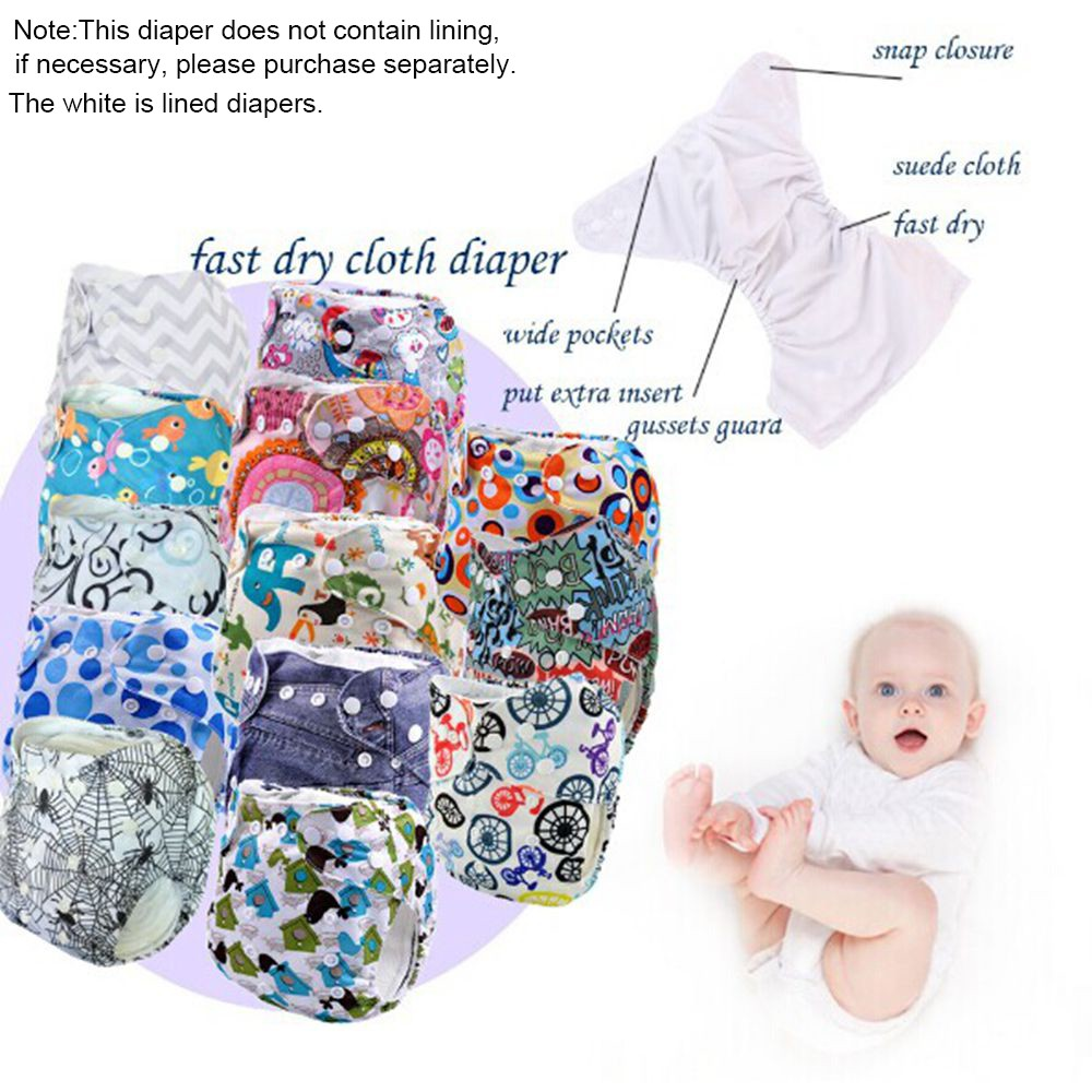 Clodi Popok Kain Bayi Little Hippo Eco Clody Shopee Indonesia Minikinizz Izzy Cloth Diaper Grosir  Motif 6