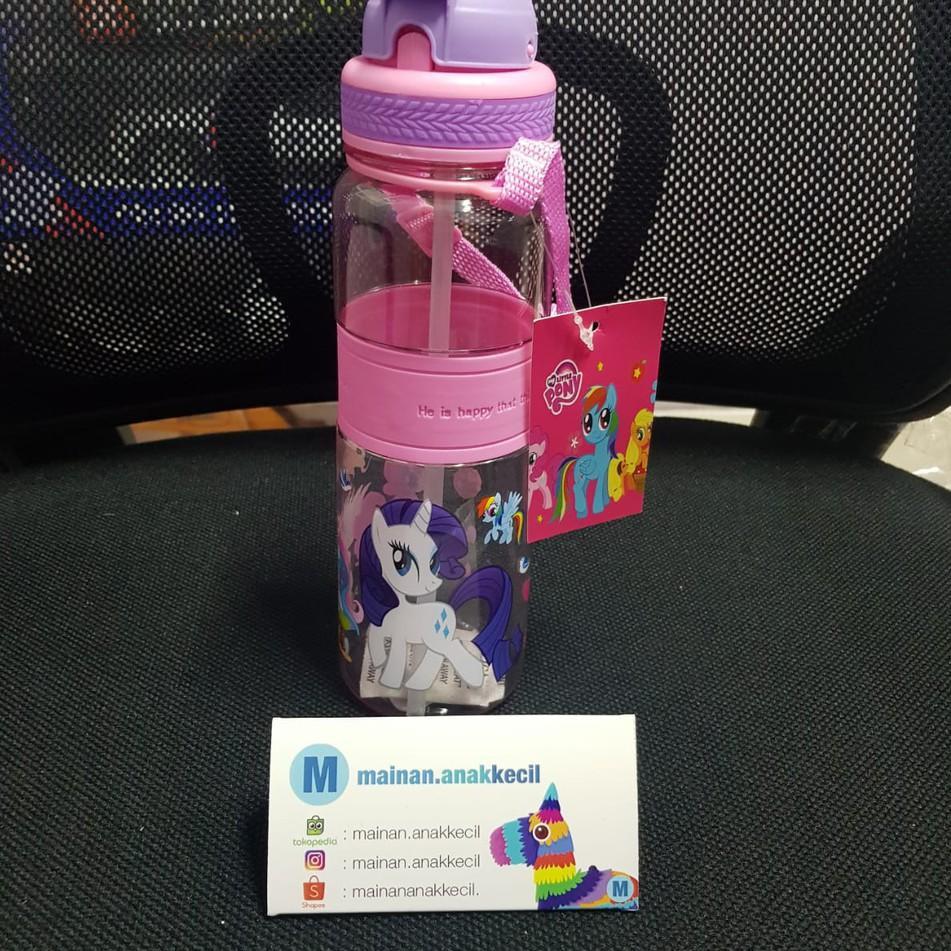 Menarik Botol Minum Anak Karakter Frozen My Little Pony Kuda Poni Avenger 500ml Bfa Free Shopee Indonesia